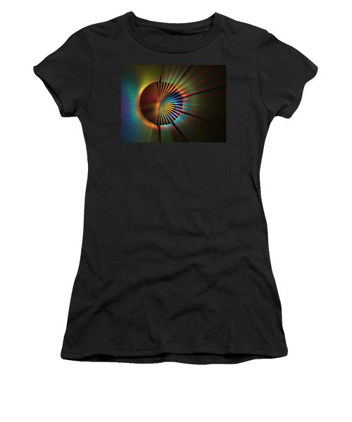 Out Of The Corner Of My Eye Women's T-Shirt (Athletic Fit)