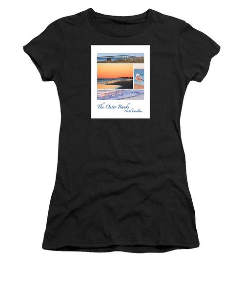 Outer Banks North Carolina Women's T-Shirt (Athletic Fit)