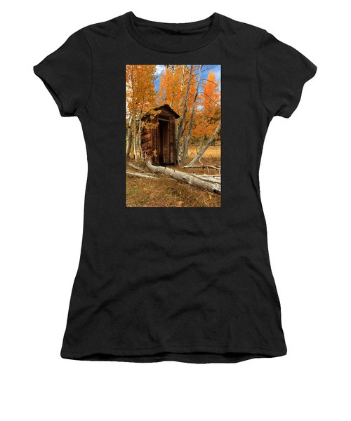 Outhouse In The Aspens Women's T-Shirt