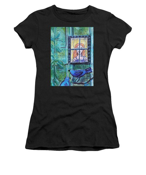 Outside My Window Women's T-Shirt