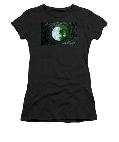 Ovens Long-silenced - Ruins At Old Iron Furnace Site Women's T-Shirt