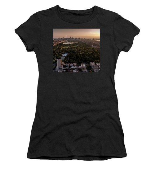 Over The City Central Park Women's T-Shirt