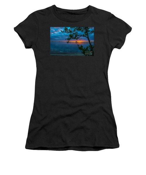 Overcast Sunrise Women's T-Shirt (Junior Cut) by Tom Claud