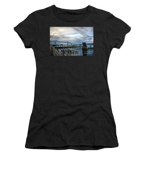 Overlooking The Bridge Women's T-Shirt