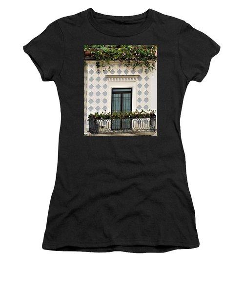 Overlooking The Piazza Women's T-Shirt