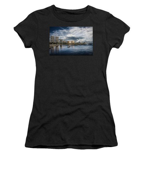 Overlooking West Palm Beach Women's T-Shirt