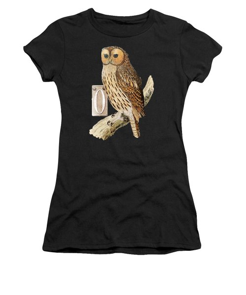 Owl T Shirt Design Women's T-Shirt