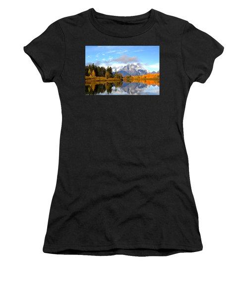 Mt Moran At Oxbow Bend Women's T-Shirt