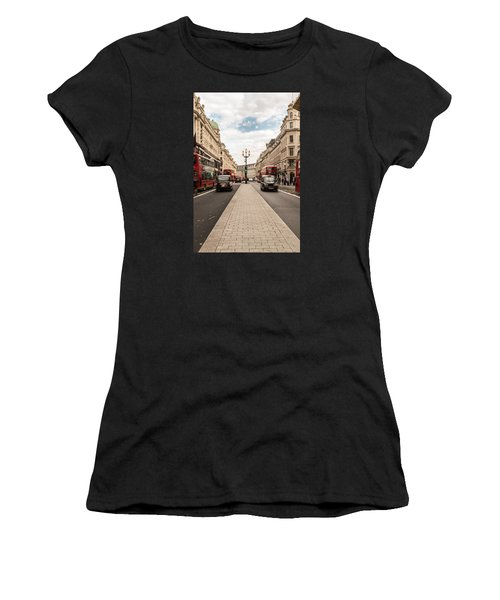 Oxford Street In London Women's T-Shirt (Athletic Fit)