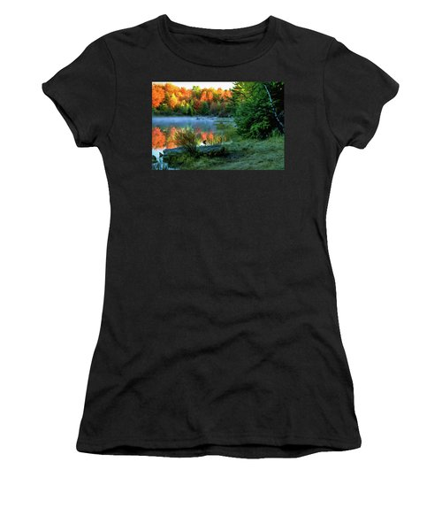 Pa 4018 Women's T-Shirt (Junior Cut) by Scott McAllister