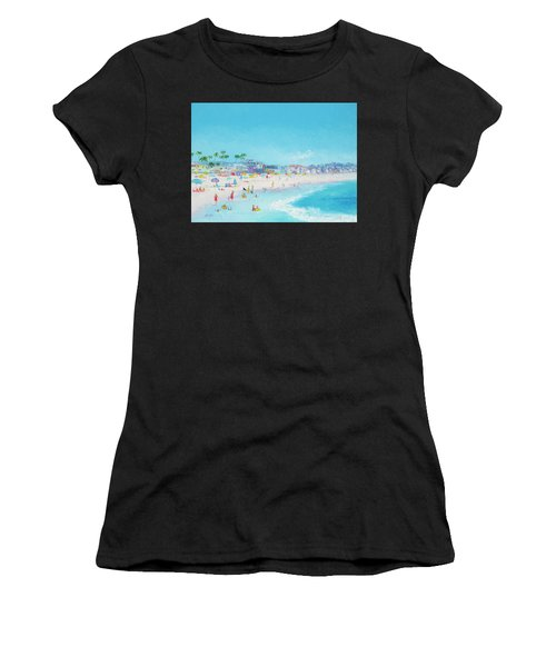 Pacific Beach In San Diego Women's T-Shirt