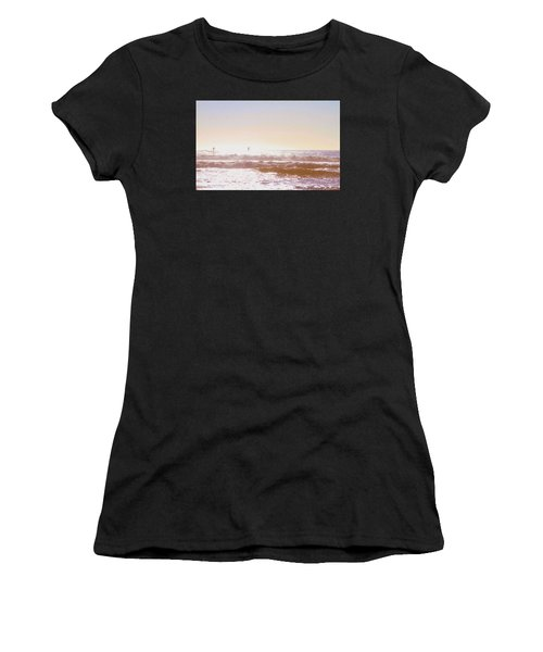 Paddleboarders Women's T-Shirt (Athletic Fit)