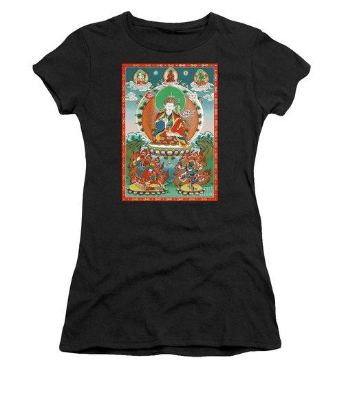Padmasambhava Women's T-Shirt (Athletic Fit)