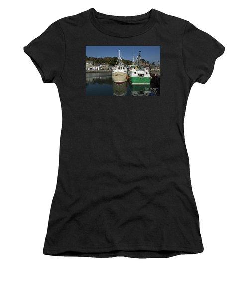 Padstow Fishing Boats Women's T-Shirt