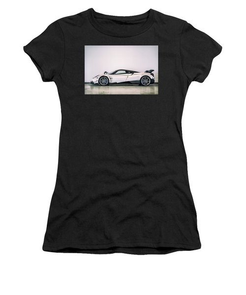 Women's T-Shirt featuring the photograph #pagani #huayra Bc by ItzKirb Photography