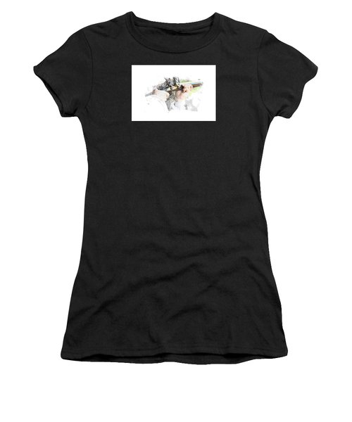 Page 16 Women's T-Shirt (Athletic Fit)