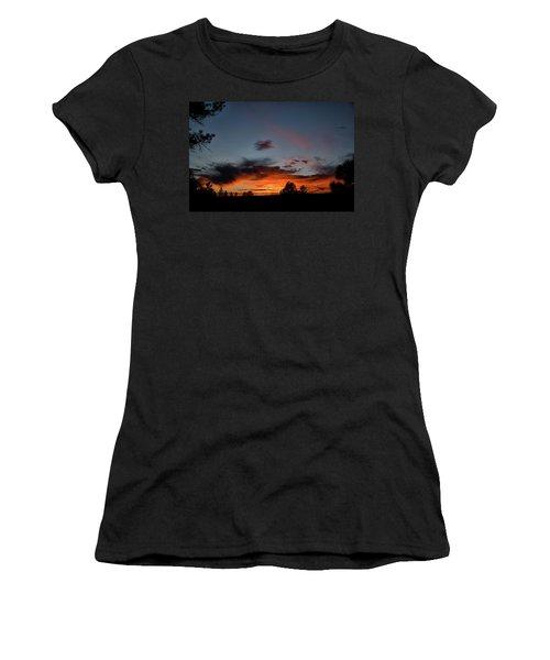 Pagosa Sunset 11-30-2014 Women's T-Shirt