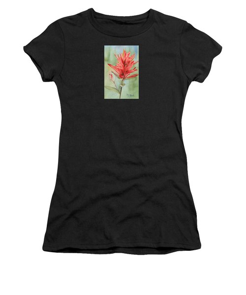 Paintbrush Portrait Women's T-Shirt