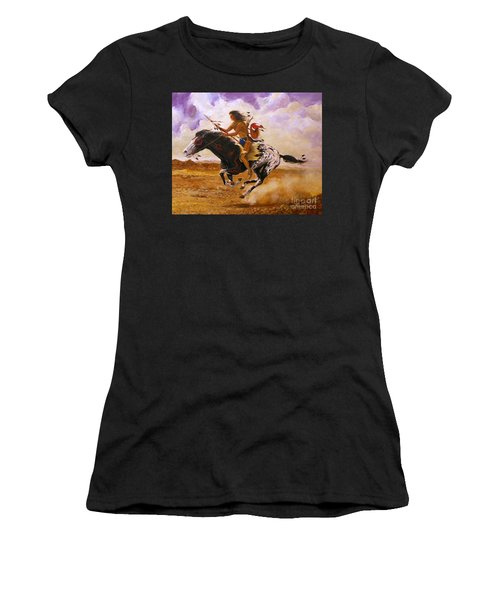 Painted Arrow Women's T-Shirt (Athletic Fit)