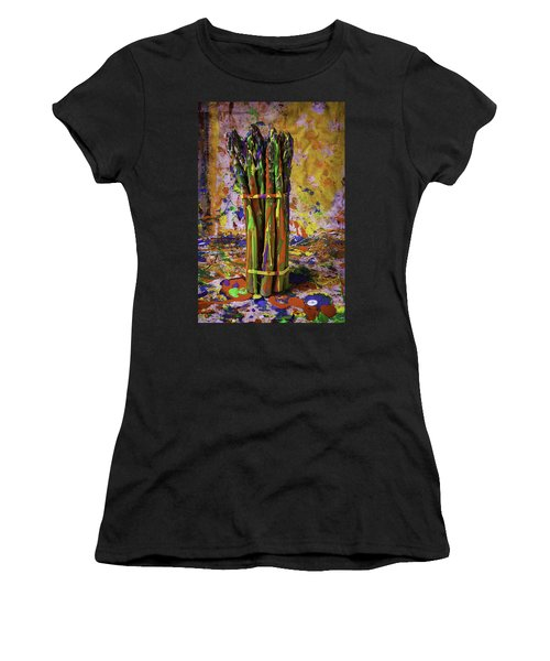 Painted Asparagus Women's T-Shirt (Athletic Fit)
