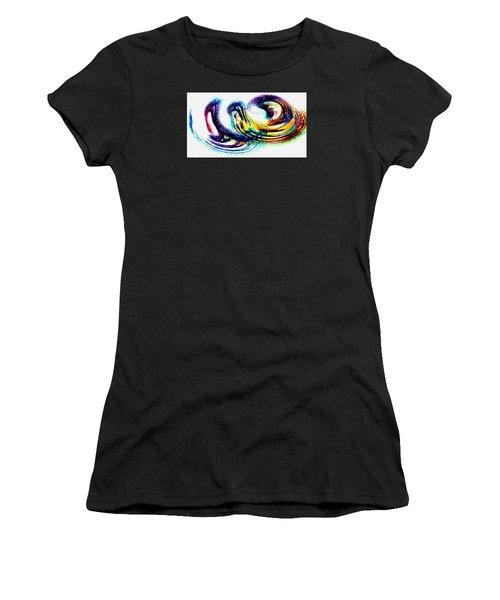 Women's T-Shirt (Junior Cut) featuring the photograph Painted Fantasy - Modern Art by Merton Allen