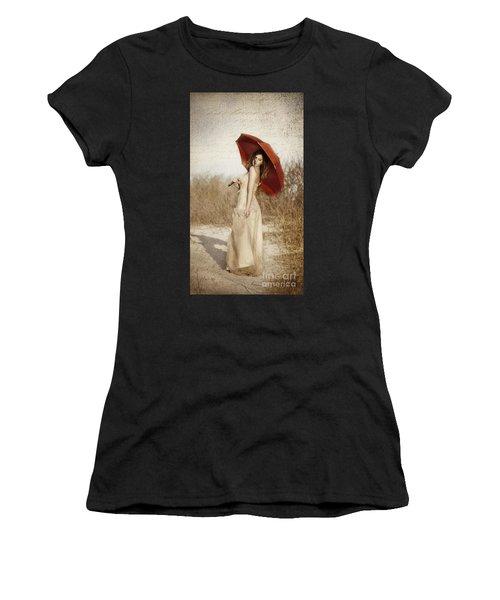 Painted Lady Narrow Women's T-Shirt