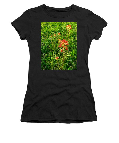 Painted Natives Women's T-Shirt (Athletic Fit)