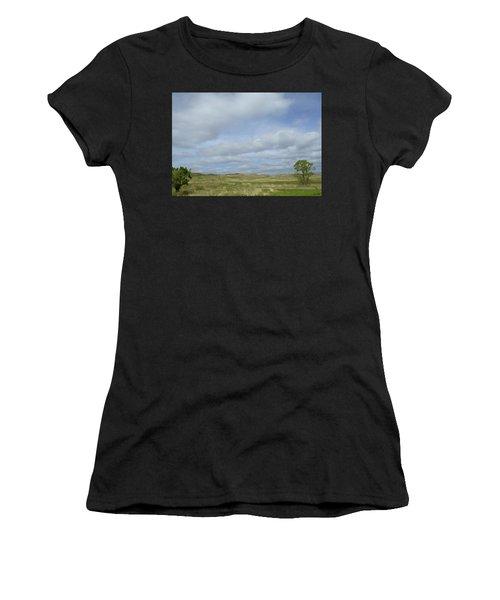 Painted Plains Women's T-Shirt (Athletic Fit)