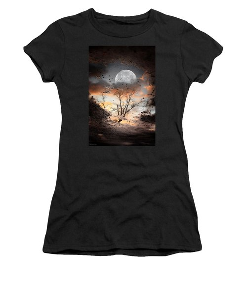 Painted Puddle Women's T-Shirt (Athletic Fit)