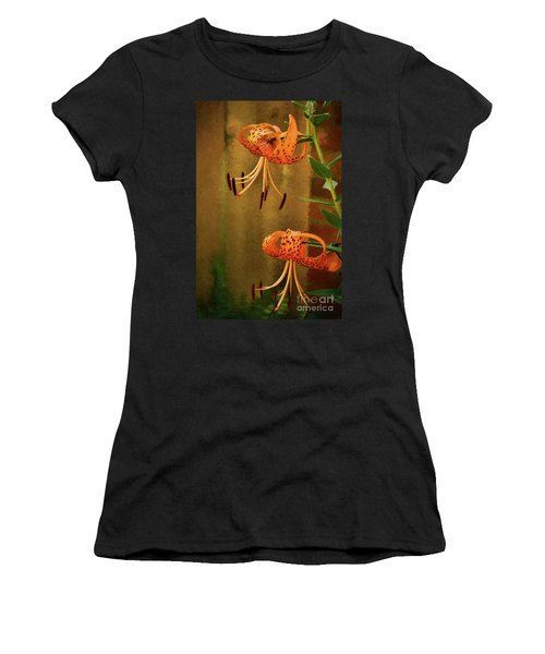 Painted Tigers Women's T-Shirt (Athletic Fit)