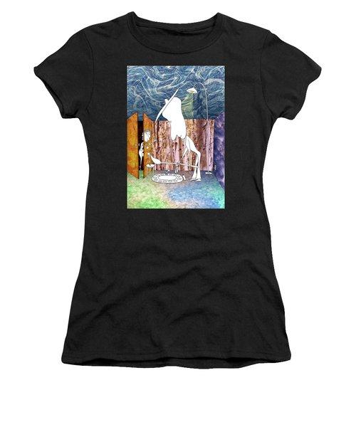 Painter Women's T-Shirt (Athletic Fit)