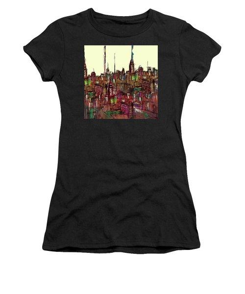 Painting 775 1 New York Skyline Women's T-Shirt