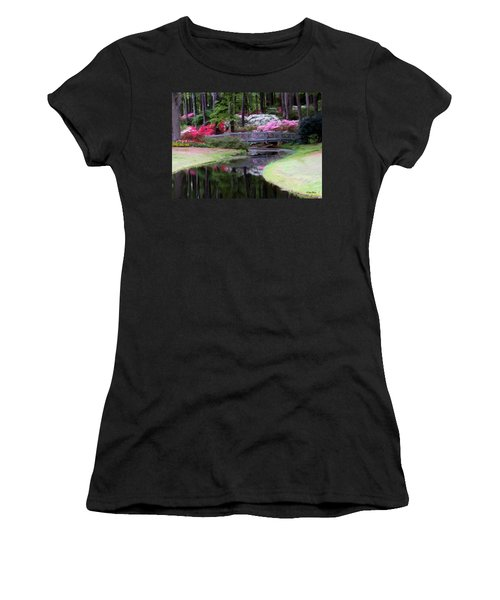 Painting At Calloway Women's T-Shirt (Athletic Fit)