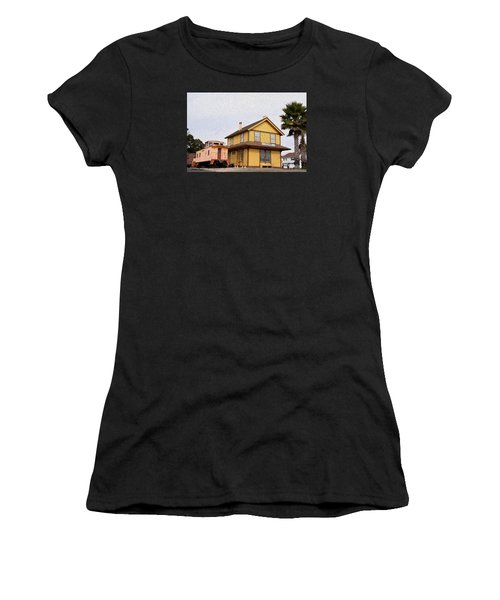 Painting Oceano Depot Museum Women's T-Shirt