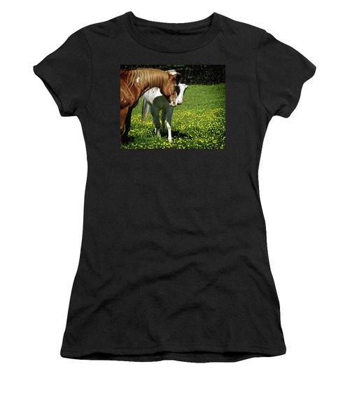 Paints And Buttercups Women's T-Shirt (Athletic Fit)
