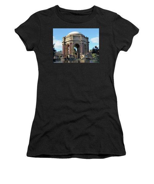 Palace Of Fine Arts Women's T-Shirt (Athletic Fit)