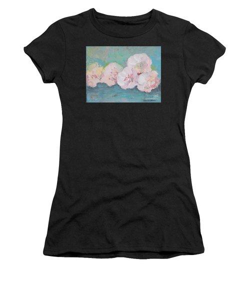 Pale Pink Peonies Women's T-Shirt