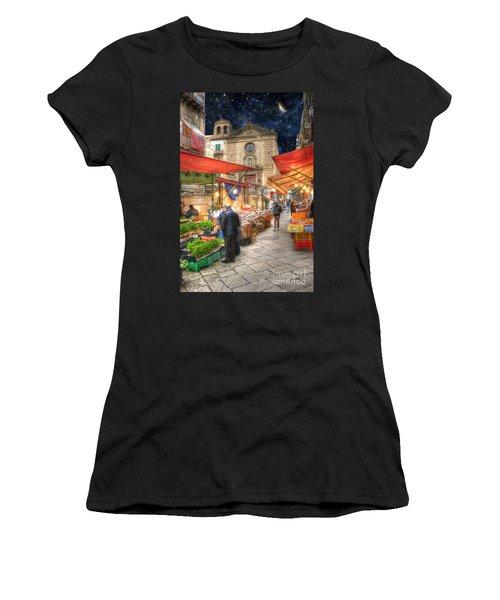 Palermo Market Place Women's T-Shirt