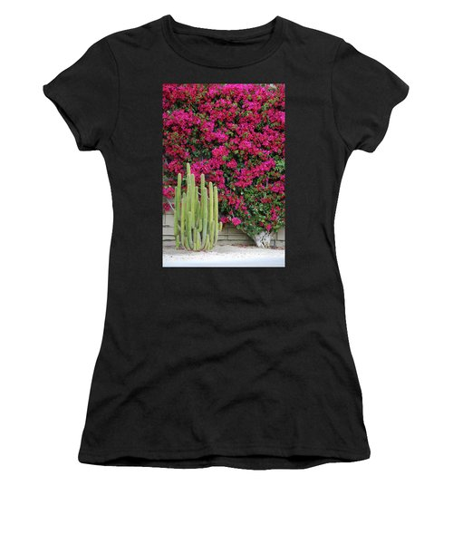 Palm Desert Blooms Women's T-Shirt (Athletic Fit)