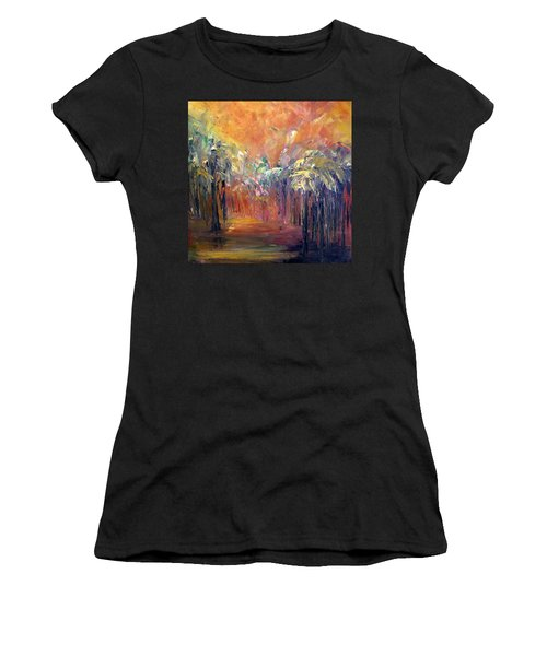 Palm Passage Women's T-Shirt (Athletic Fit)