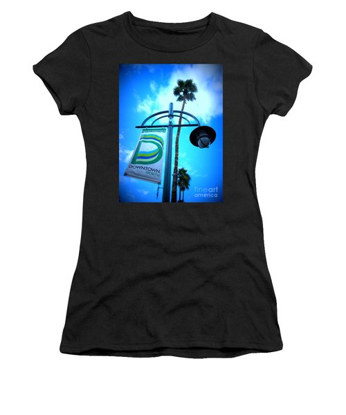 Palm Springs North Women's T-Shirt (Athletic Fit)