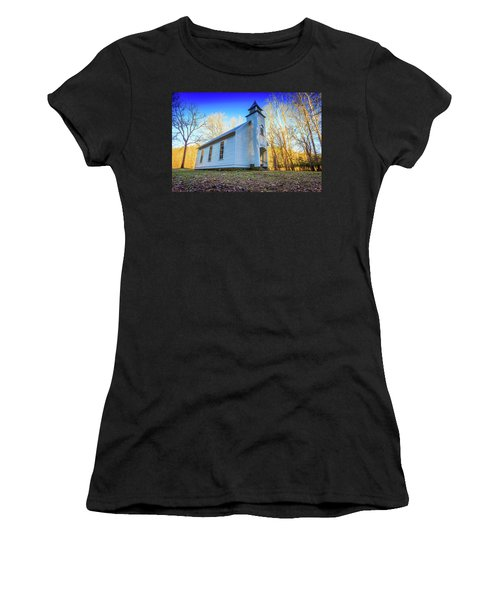Women's T-Shirt featuring the photograph Palmer Chapel Methodist Church by Doug Camara