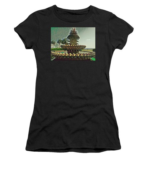 Palms And Pineapples Women's T-Shirt