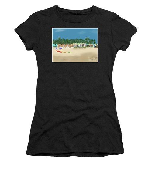 Palolem Beach Goa Women's T-Shirt