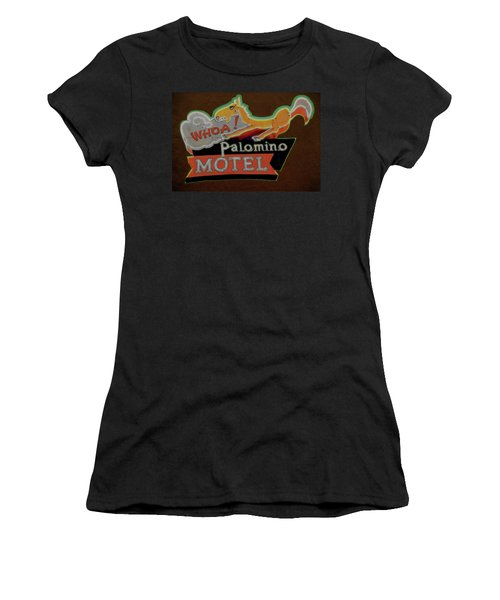 Palomino Motel Women's T-Shirt (Athletic Fit)