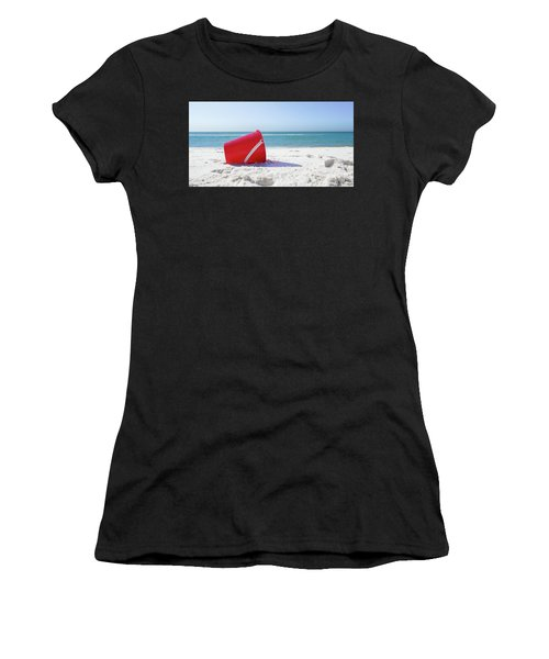 Panama Beach Florida Sandy Beach Women's T-Shirt