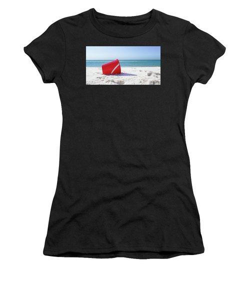 Panama Beach Florida Sandy Beach Women's T-Shirt