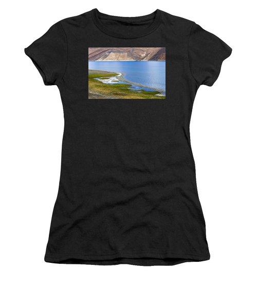 Pangong Tso, Ladakh, 2005 Women's T-Shirt