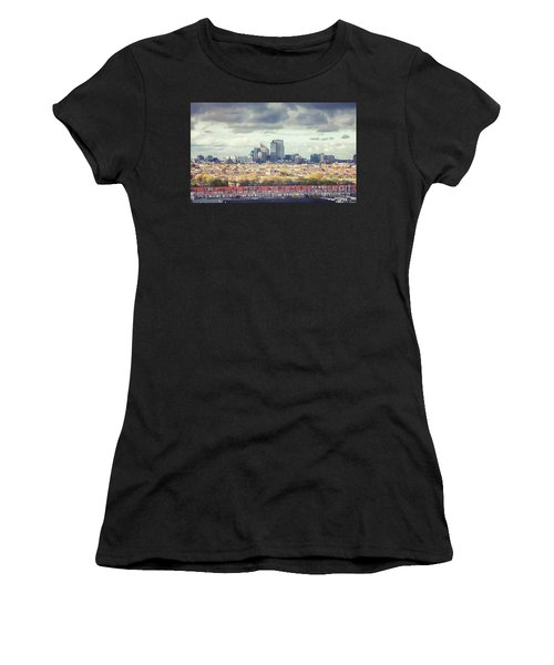 panorama of the Hague modern city Women's T-Shirt