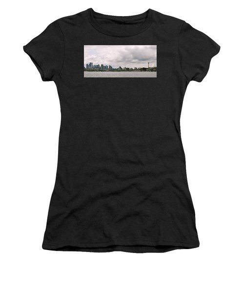 Panoramic Seattle Women's T-Shirt (Athletic Fit)